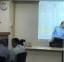 David Gullmarsvik demonstrating the system