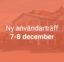 PT Användarträff 7-8 December