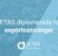 JETAS Diplomerade för exportsatsningar