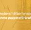Novembers hållbarhetspunkt: Eliminera pappersförbrukning