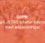 GDPR – Vi på JETAS arbetar intensivt med anpassningar