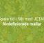 Spara tid i fält med JETAS fördefinierade mallar